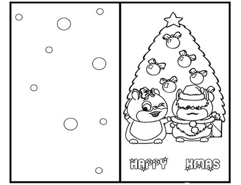 holiday card templates for pages coloring christmas cards all coloring page inside