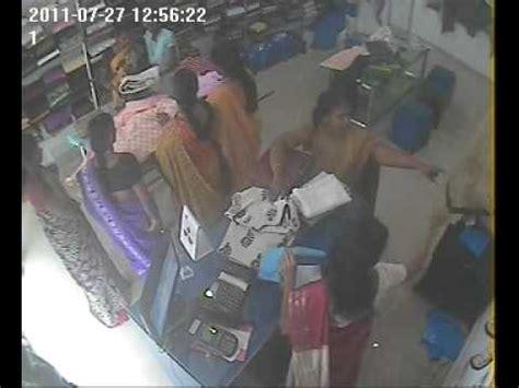 hidden camera in indian bedroom theft in quot cotton more quot textile shop caught in hidden