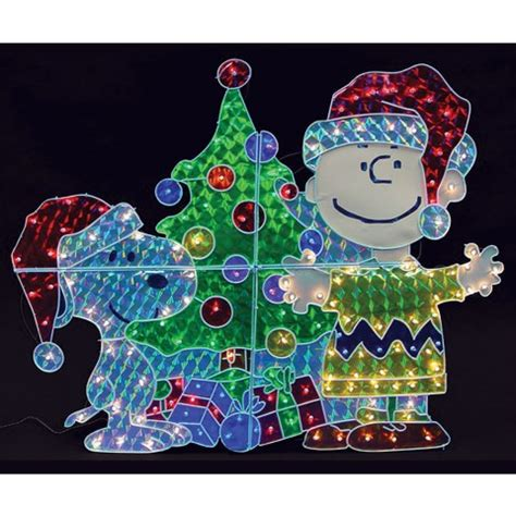 christmas holographic display christmas yard decorations