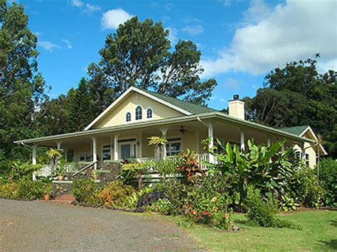 Home Design In Hawaii Haiku Plantation Style Home