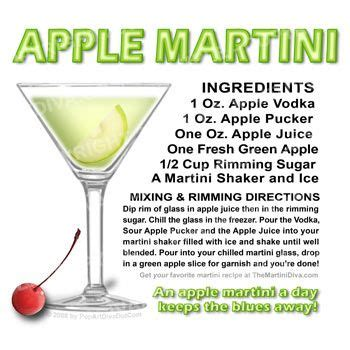 martinis recipes apple best with granny smith apple slices and