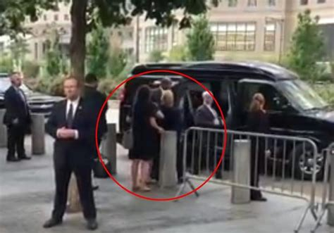 A Sick Collapses by Did Wannabe Us President Clinton Die