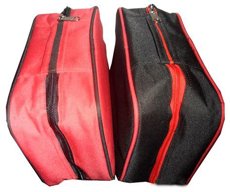 Hanger Bag Organizer Polos tempat kosmetik cosmetic bag brush warna polos cbb
