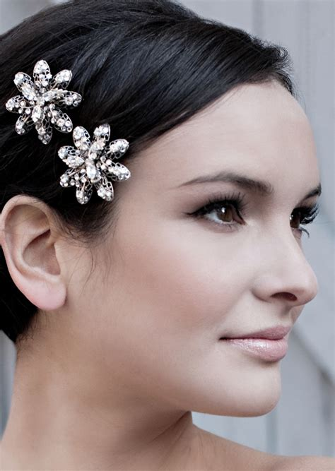 medium hair styles with barettes wedding hair accessories for short hair long hairstyles