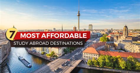 Cheap And Best Mba Abroad by 7 Most Affordable Destinations For Studying Abroad Biggedu