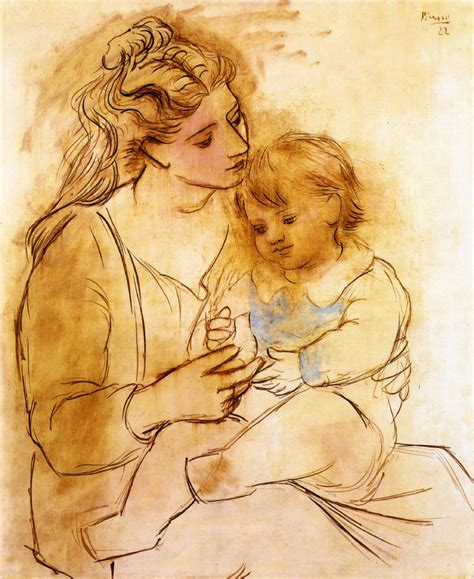picasso paintings and child and child pablo picasso http www wikipaintings