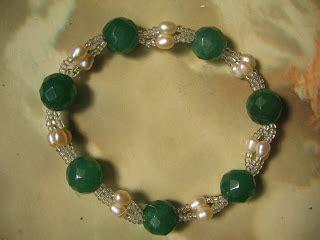 Gelang Batu Tiger Eye Biru permata hearty rantai tangan mutiara jade batu permata