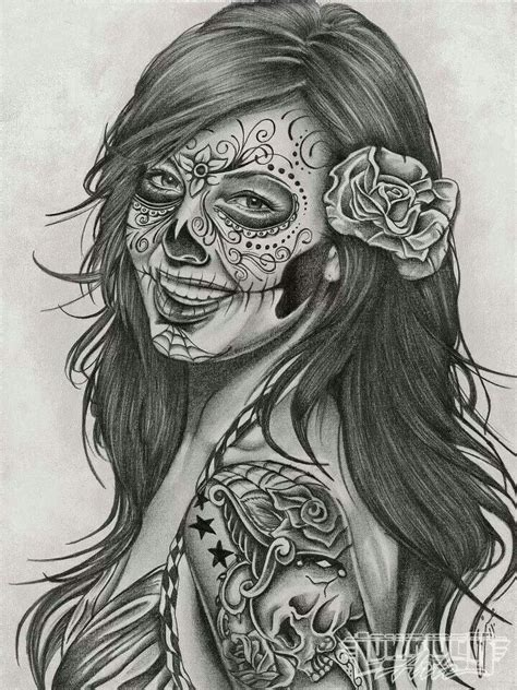 dead girlz tattoo 1000 ideas about chicano drawings on chicano