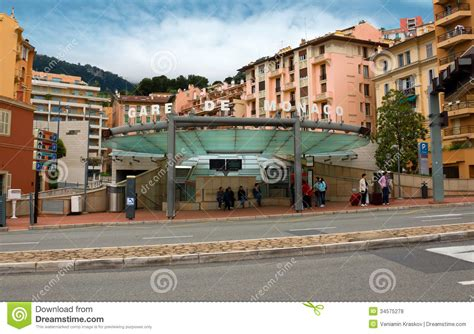 Mediterranean Home Plans With Photos by Monaco Train Station Editorial Stock Photo Image 34575278