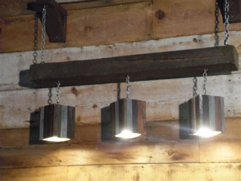 Wood Beam Light Fixture Modern Rustic Reclaimed Wood And Barn Beam Hanging Light Fixture On Etsy 350 00 Barn Wood