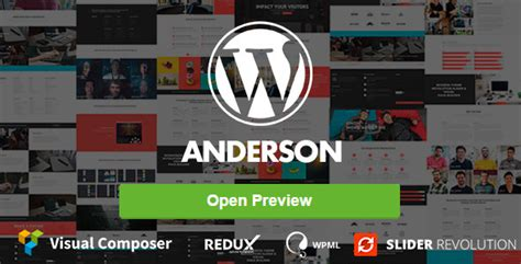 ps4 themes vorschau anderson mehrzweck wordpress theme webdesign seo
