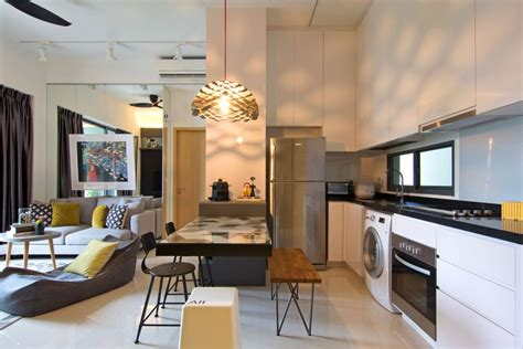 apartment kitchen renovation ideas artistic renovation of an eclectic apartment in singapore