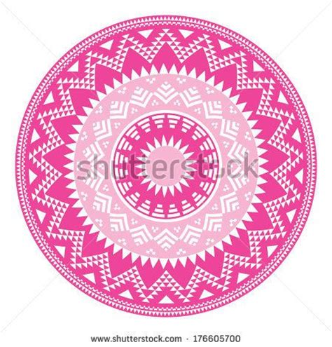 aztec pattern in pink 17 best images about tribal patterns on pinterest retro