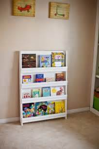 white book display shelf home playroom
