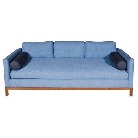 rounded back sofa curved back sofa by lawson fenning at 1stdibs
