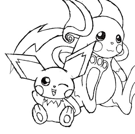 pokepark raichu coloring pages coloring pages mega raichu coloring pages coloring pages