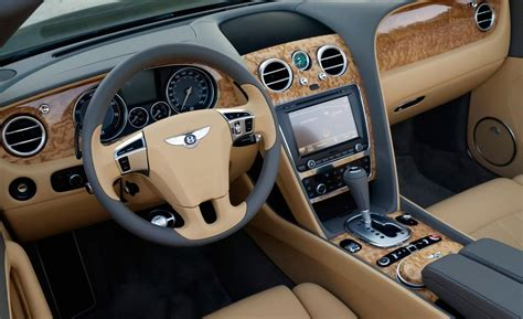 bentley gtc interior car and driver