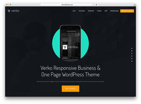 Wordpress Theme One Page Layout | 42 best one page wordpress themes 2018 colorlib