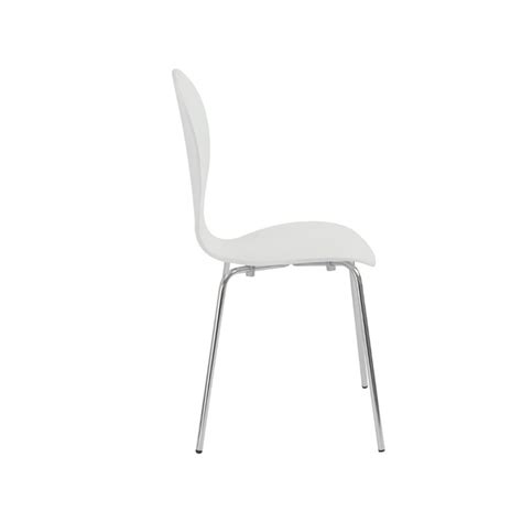 white stacking chairs eurostyle bunny stacking chair in white 02944