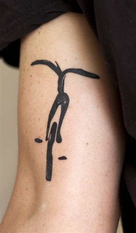 heartbeat bike tattoo 30 bicycle tattoos for bike lovers bicycle tattoo