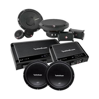 Speaker Rockford Fosgate P165se Rockford Fosgate P165se jual rockford loud paket audio mobil harga kualitas terjamin blibli