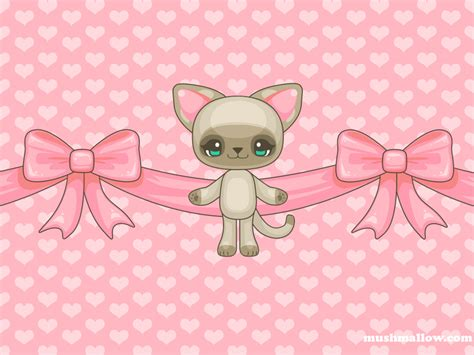kawaii wallpaper pink kawaii wallpaper wallpapersafari