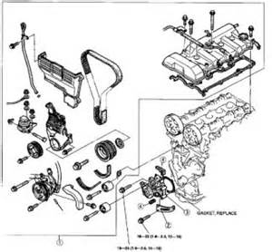 mazda removal water water pumps