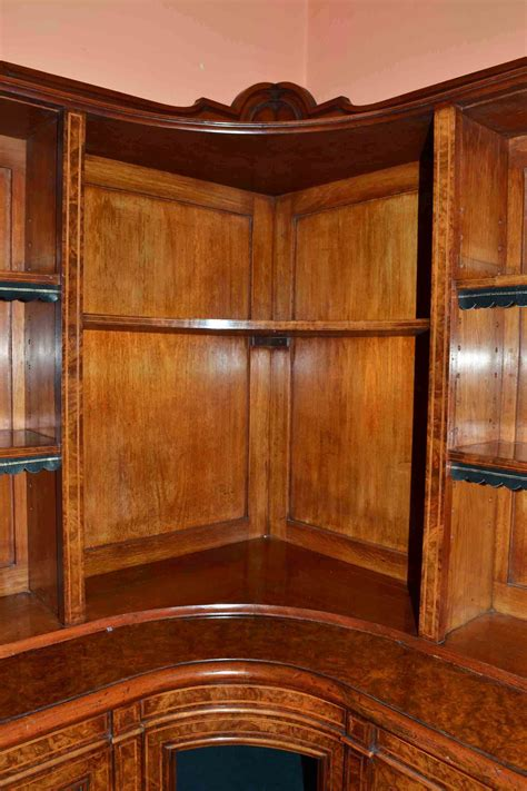 Regent Walnut Bookcase regent antiques bookcases and display cabinets antique