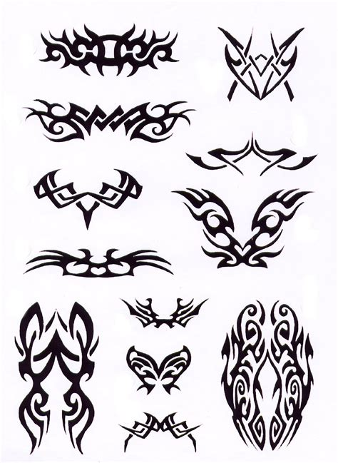 tribal flash tattoos tribal design img32 tribal flash tatto sets
