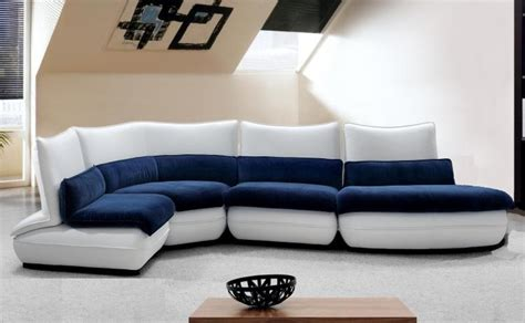 blue and white sofa home furniture design