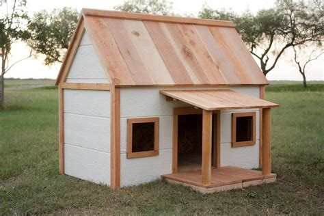 wooden dog house with porch dog house with porch buildsomething com