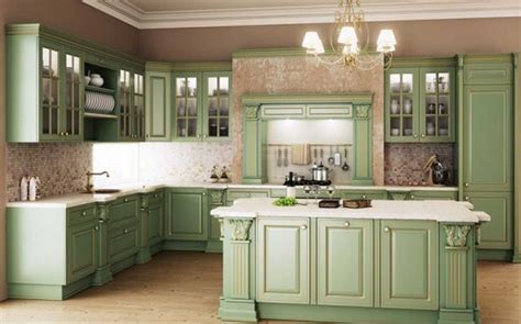 Classic Kitchen Cabinet Beautiful Green Kitchen Pictures Photos And Images For Pinterest And