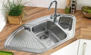 Contemporary Small Kitchen Designs - corner kitchen sinks taps online
