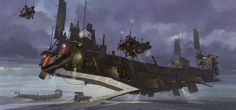 ark flying boat concept ships april 2012
