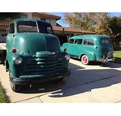 1948 Chevy COE  And 1951 GMC Suburban