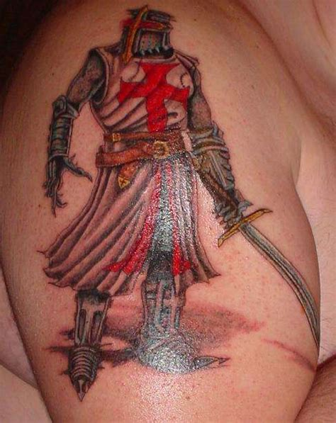 knights templar cross tattoo heaven light templar knights tattoos