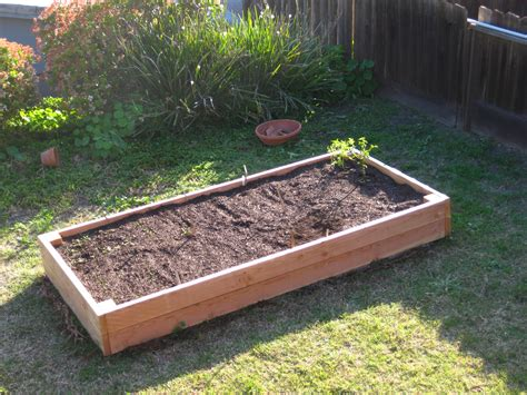 Raised Bed Planter The Homestead Hobbyist Raised Bed Planter