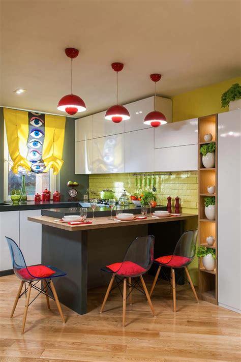 Superbe Bar Pour Petite Cuisine #4: Deco-couleurs-petite-cuisine-us.jpg