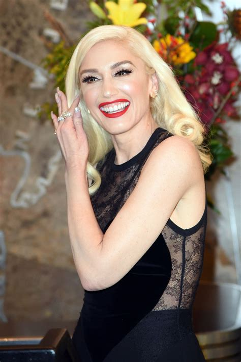 Gwen Stefani by Gwen Stefani Empire State Building Lighting Ceremony In