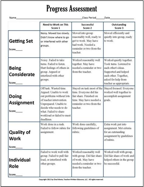 Learning And Assessment Strategy Template by Cooperative Learning 7 Free Pdf Assessment Instruments