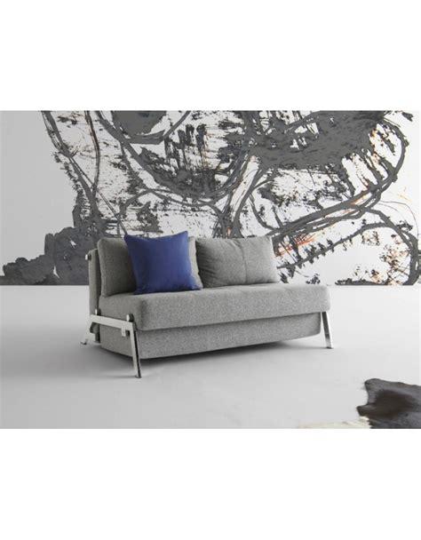 innovation sofa beds uk innovation cubed chrome 140 sofa bed compact comfort uk