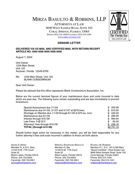 Demand Letter Debt Sle Best Photos Of Sle Collection Demand Letter Attorney Collections Demand Letter Sle 60