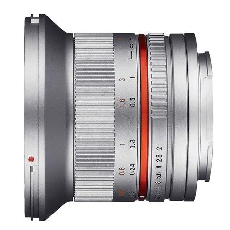 Samyang 12mm F2 0 samyang 12mm f2 0 sony e mount silver