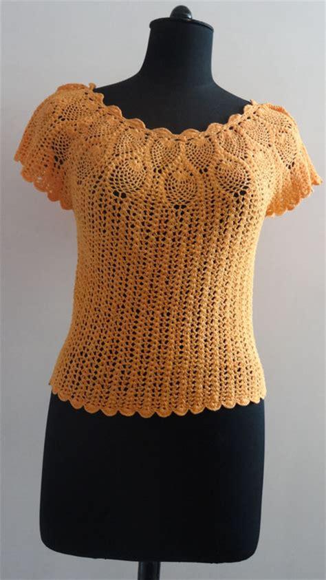paso a paso blusas de crochet blusa de ganchillo paso a paso imagui