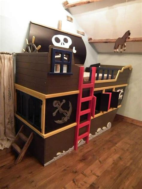 Ship Bunk Beds 6 Ways To Turn Your Boy S Room Into A Pirate Ship The Decal Guru