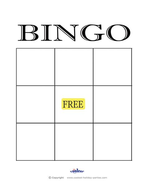 Bingo Card Template With Numbers by Bingo Card Template With Numbers Images