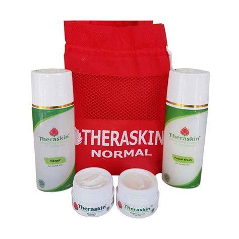 Paket Whitening Skinesse Untuk Kulit Normal jual theraskin paket whitening pencerah wajah untuk kulit normal bpom harga