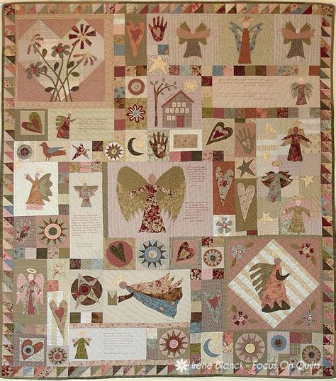 Patchwork Quilts Lots Of Them - awakening and lots of patterns by irene blanck see