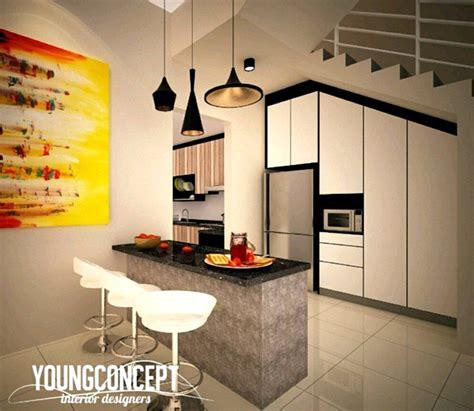 reka bentuk dapur rumah  malaysia