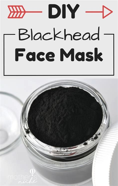 diy face mask recipe    rid  blackheads